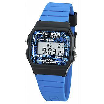 -Watch Freegun EE5205 child digital Silicone blue Gar we