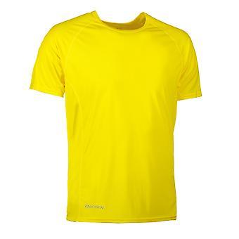 ID Mens Active Sport Short Sleeve Geyser T-Shirt