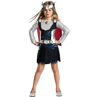 Thor Girl Toddler Costume