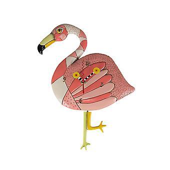 Allen mallit Hullu Jalat Vaaleanpunainen Flamingo Heiluri Seinäkello