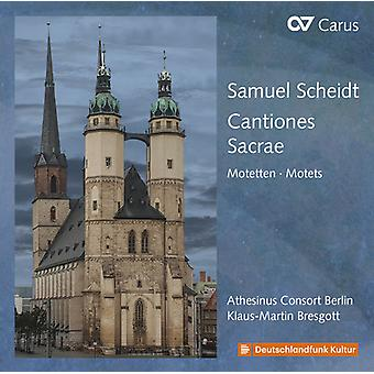 Scheidt - Cantiones Sacrae [CD] USA import