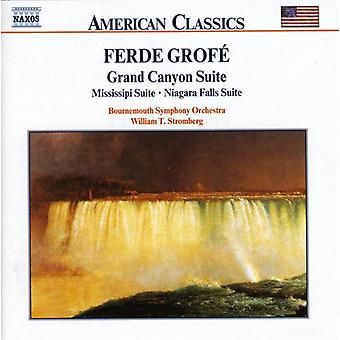F. Grofe - Ferde Grof : Grand Canyon, Mississippi & Niagara Suites [CD] USA import