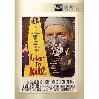 Intent to Kill [DVD] USA import
