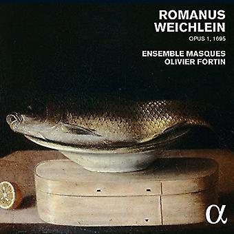 Fortin, Olivier / Ensemble Mercádia - Romanus Weichlein: Opus 1695 [CD] EUA importar