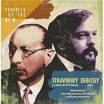Stravinsky: Le Sacre Du Printemps/Debussy: Jeux [CD] USA import