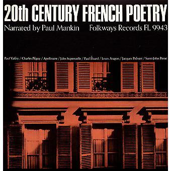 Paul a. Mankin - 20 siglo francés poesía: narrado por importación de Estados Unidos Paul Manki [CD]