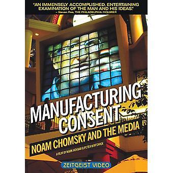 Noam Chomsky - Manufacturing Consent-Noam Chomsky & the Media [DVD] USA import