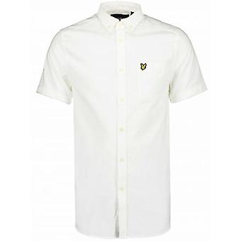 Lyle & Scott White Short-Sleeve Shirt