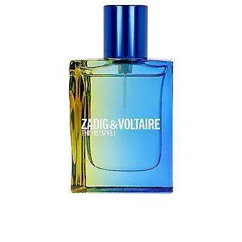 Zadig & Voltaire Dies ist Liebe Pour Lui Edt Spray 30 Ml für Männer