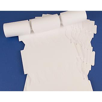 12 Smooth White Make & Fill Your Own DIY Recyclable Christmas Cracker Boards