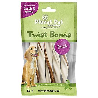 Planet Pet Snack Rollito Dental Sabor a Pato (Dogs , Treats , Chewy and Softer Treats)