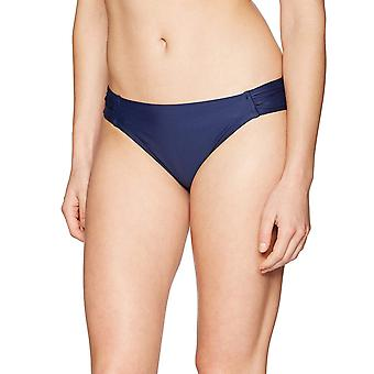 Coastal Blue Women's Swimwear Bikini Bottom, Navy, M (8-10)