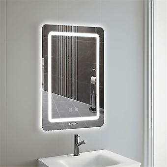 Ultra-slim Led Bathroom Illuminated Mirror Dimmable Light