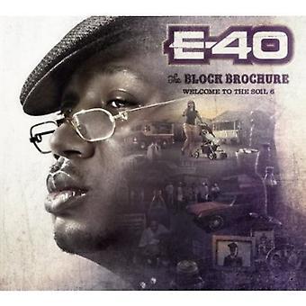 E-40 - E-40: Vol. 6-Block Brochure: Welcome to the Soil [CD] USA import