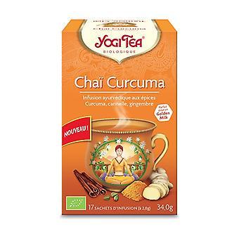 Organic Turmeric Chai 17 infusion bags
