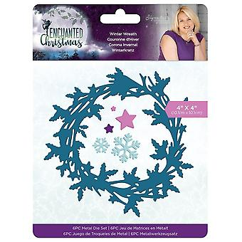 Crafter's Companion Enchanted Christmas Winter Wreath Dies