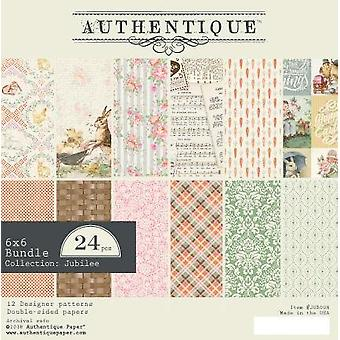 Authentique Jubilee 6x6 pulgadas Paper Pad