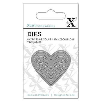 Xcut Dinky morrer (1pc) - coração (XCU 503172)