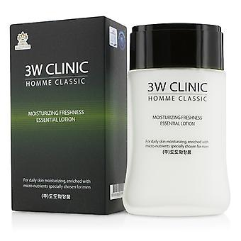 3W Clinic Homme Classic - Moisturizing Freshness Essential Lotion 150ml/5oz