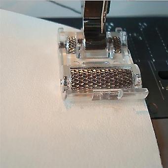 Lage steel roller presser voet voor Snap, Home Art Diy Kleding Naaimachine