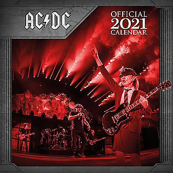 AC/DC Calendar 2021 Official Wall Calendar 2021, 12 months, original English version.