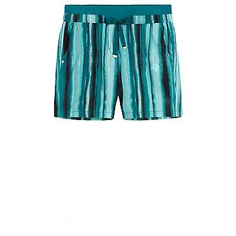 Sandwich Clothing Green Striped Shorts