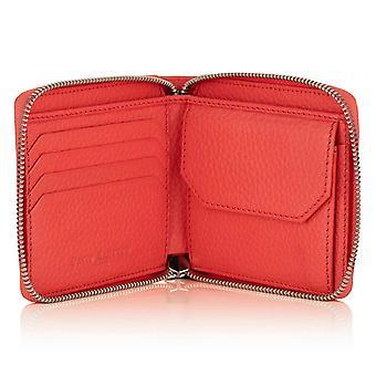 Jaipur vaaleanpunainen Richmond nahka vetoketjullinen kolikon lompakko