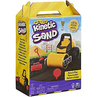 Kinetic Sand Construction Pave & Play