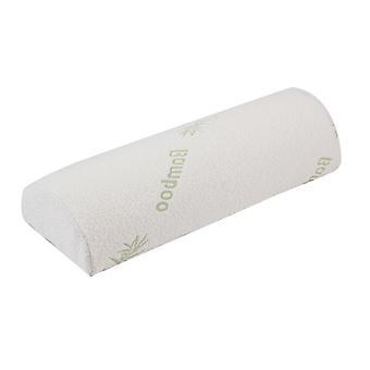 YANGFAN Bamboo Fiber Memory Foam Semi-circular Leg/Knee Pillow
