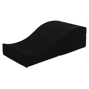Sex sofa foldbar sort