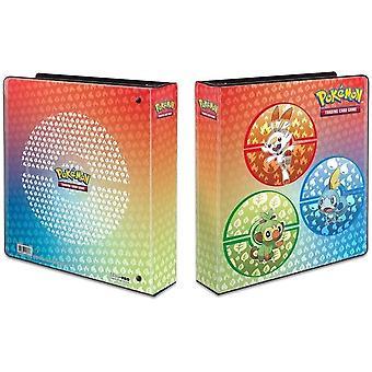 "2"" Álbum Pokemon Sword e Shield Galar Starters"