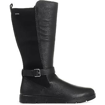 Ecco Womens Bella Leather Mid-Calf Boot