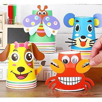 3d Diy handgemachte Papier Tassen