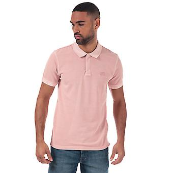 Men's Levis Authentic Logo Polo Shirt in Pink