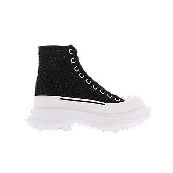 Alexander McQueen H.Boot Tread.Le.S.Ru Sta. Musta 633900WHW571027 kenkä