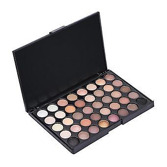 Eyeshadow Palette Smoky Pigment, Long Lasting Makeup