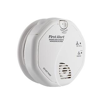First Alert® SCO5UK Combination Carbon Monoxide & Smoke Alarm - AA Batteries