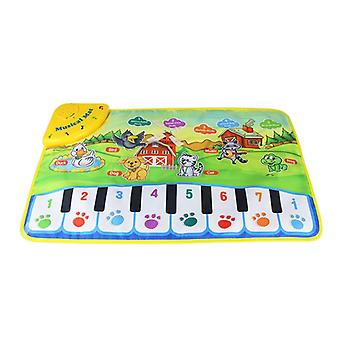 Funny Baby Piano Muzicale Play Mats Kids Learning Blanket Rug Instrument muzical
