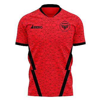 Albania 2020-2021 Home Concept Football Kit (Libero)