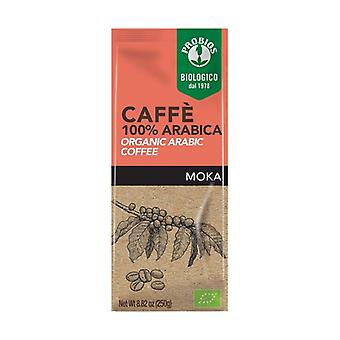 100% Arabica coffee - for moka 250 g of powder
