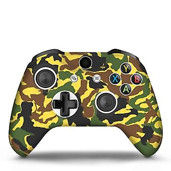 Pour Xbox-one X S Controller-gamepad Camo Silicone-cover-rubber-skin Grip-case