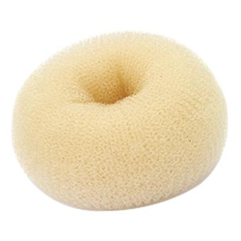 Hair Donut - Small Blonde, 6cm Approx