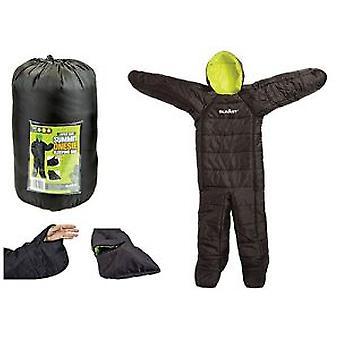Summit Onesie Sleeping Bag Suit - Noir
