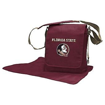 Florida State Seminoles NCAA LilFan Diaper Messenger Bag