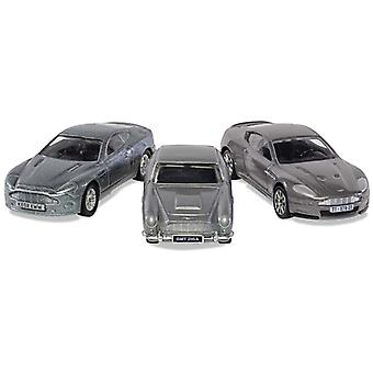 Aston Martin DB5  DBS and V12 Vanquish (Triple Pack) from James Bond