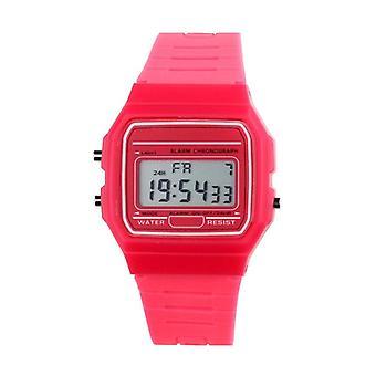 Ny silikone gummirem Retro Vintage Digital Watch