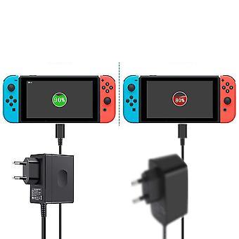 Eu/us Plug Ac Adapter Charger لمفتاح Nintend