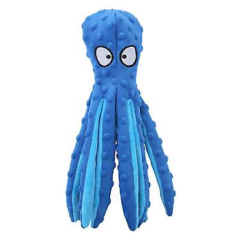 Stuffing Squeaky Dog Toy, Soft Octopus Plush Dog Toy With Crinkle Paper, Stuffingless Dog Chew Toy