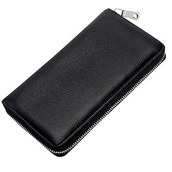 YANGFAN Men's Long Wallet Large Capacity