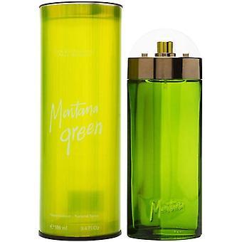 Montana Green Eau de Toilette Spray for Men 100 ml